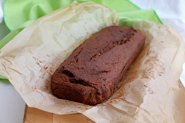Grain Free Banana Bread with Chestnut Flour