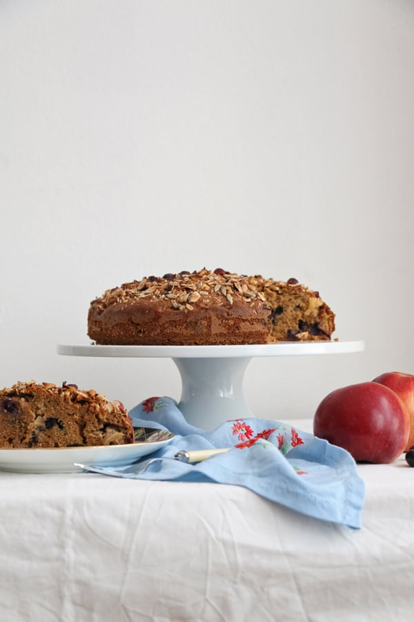 Apple Blueberry Cake