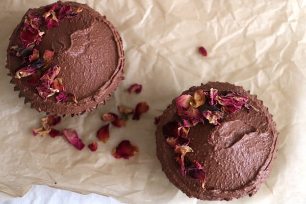 Chocolate and Raspberry Vegan Cupcakes