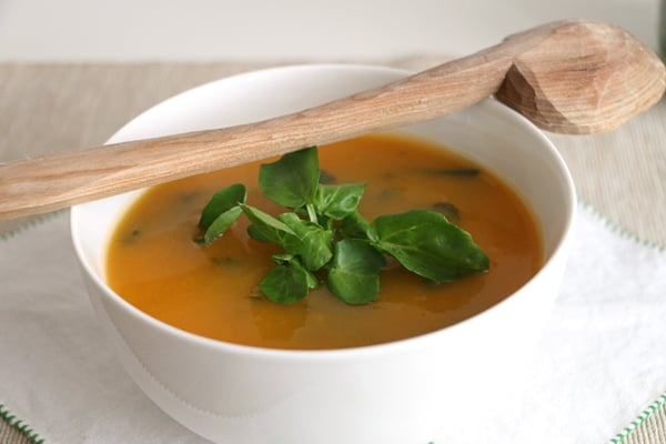 Squash and Watercress Soup