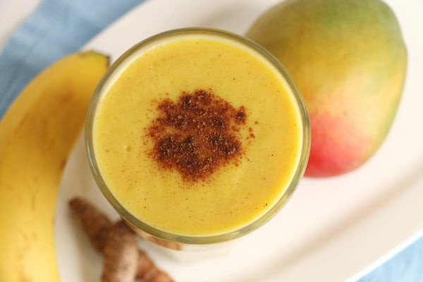 Mango and Turmeric Smoothie