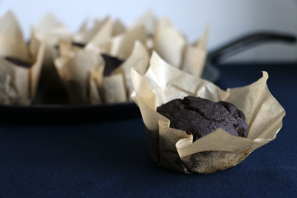 Pear and Carob Muffins (vegan & gluten-free)
