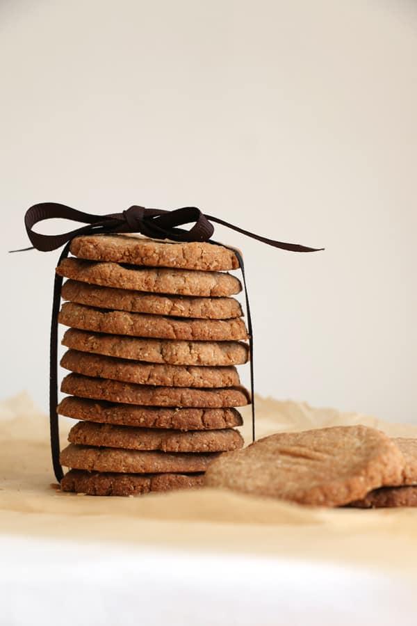 Almond Buckwheat Cardamom Cookies