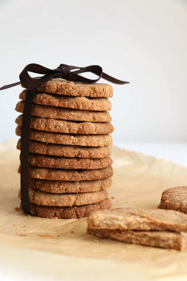 Almond Buckwheat Cardamon Cookies