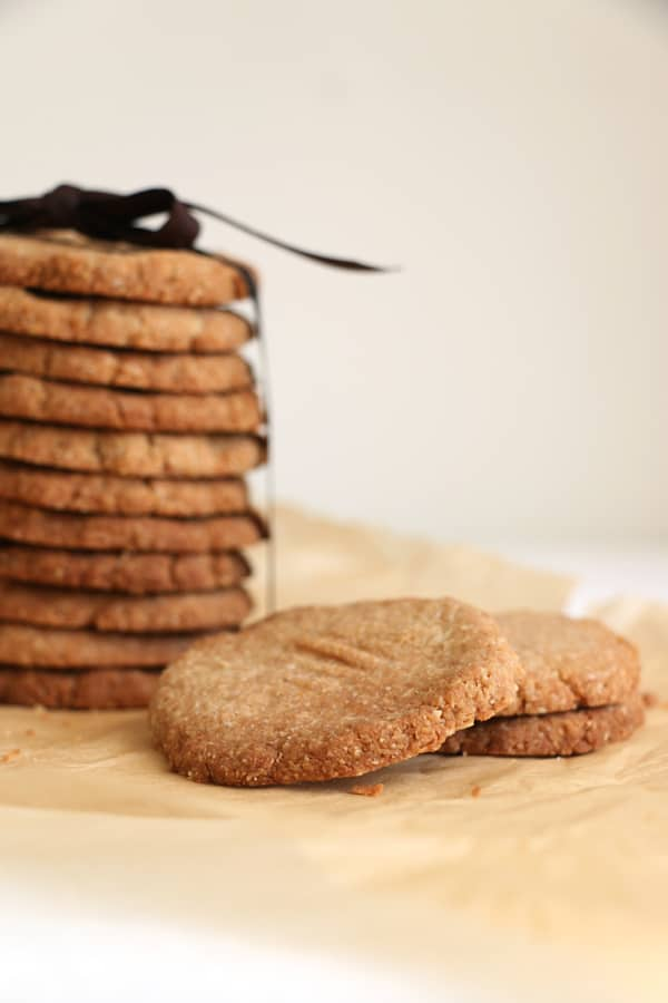 Almond Buckwheat Cardamom Cookies