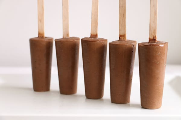 Chocolate Avocado Ice Lolly