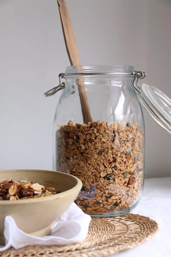 Almond Date and Coconut Granola