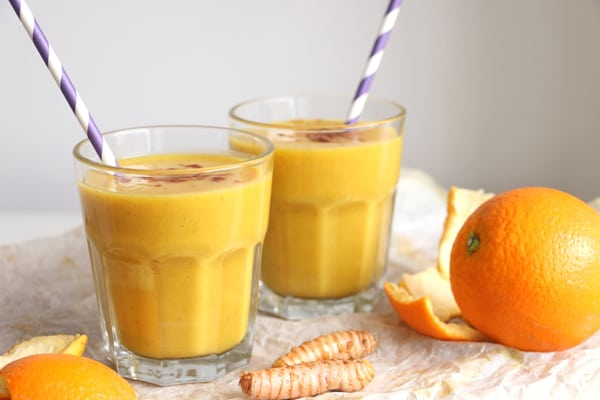 Pumpkin, Orange and Turmeric Smoothie