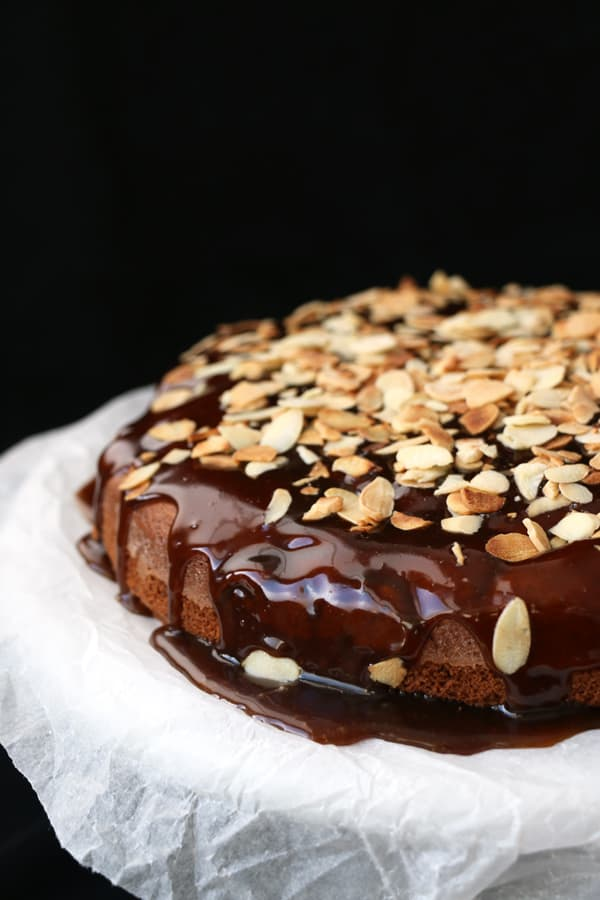 Gluten-Free Apple Cake with Salted Caramel