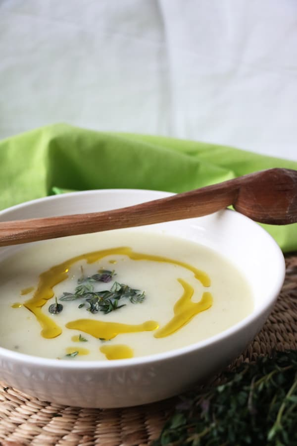 Simple Cauliflower and Parsnip Soup