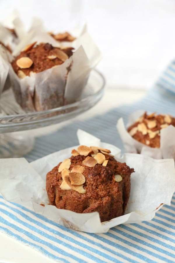 Swede, Almond and Ginger Muffins
