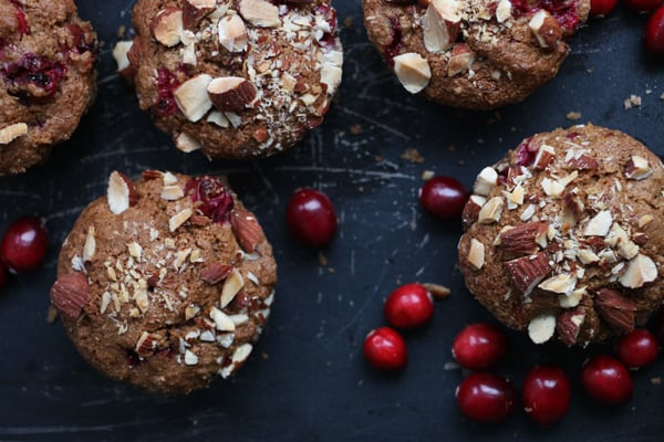 Cranberry, Almond and Orange Muffins