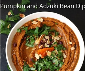Pumpkin and Adzuki Bean Dip