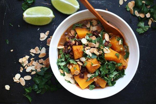 Pumpkin and Adzuki Bean Masala Curry