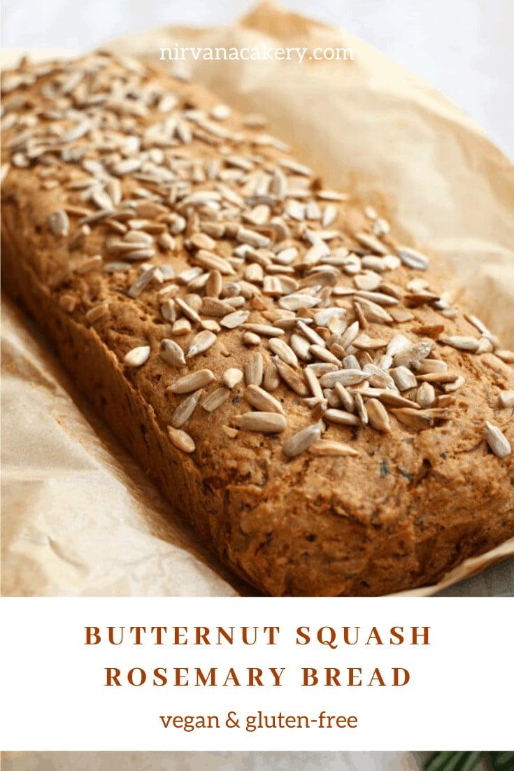 Butternut Squash Rosemary Bread