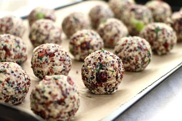 Baked Quinoa Balls