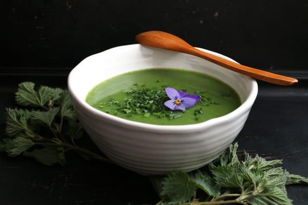 Spring Nettle Soup