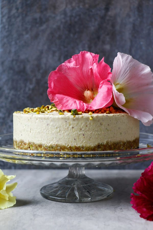 Pistachio Ice Cream Cake (grain-free & vegan)