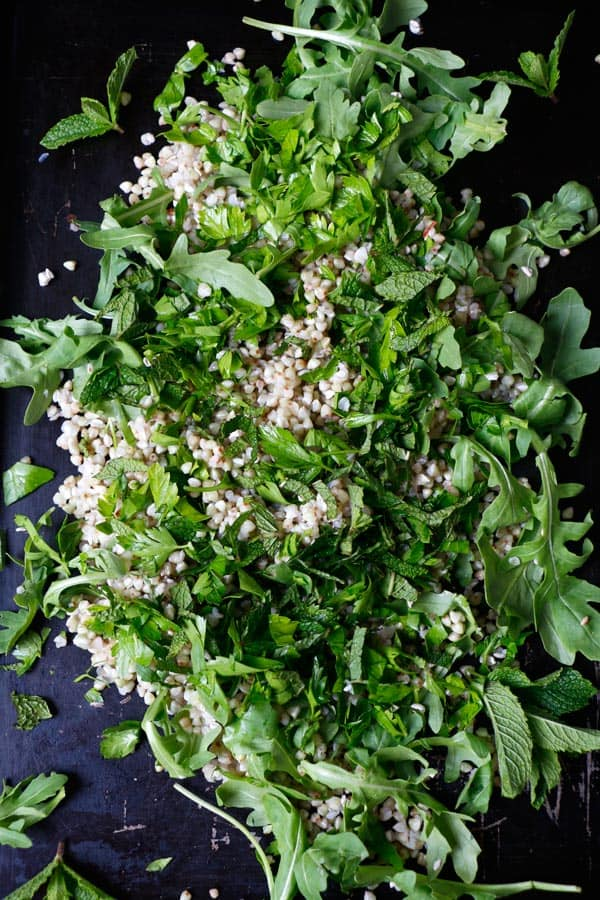 Summer Buckwheat Salad (gluten-free & vegan)