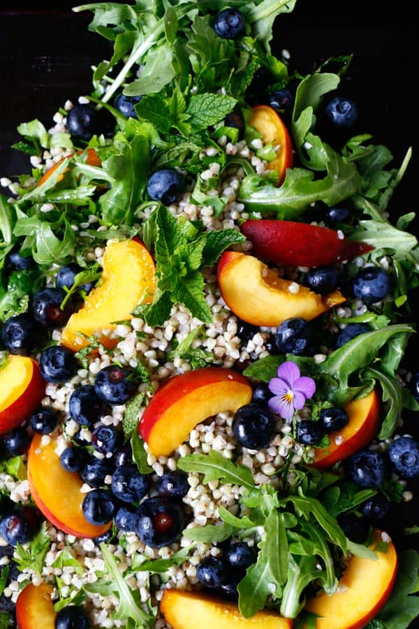 Summer Buckwheat Salad (gluten-free & vegan)