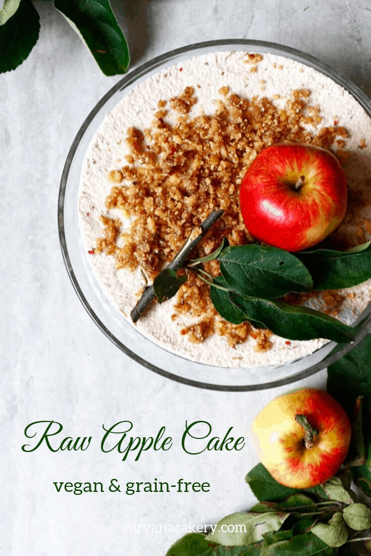 Raw Apple Cake (grain-free & vegan)