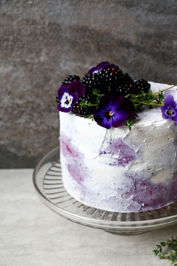 Plantbased Birthday Cake (gluten-free & vegan)