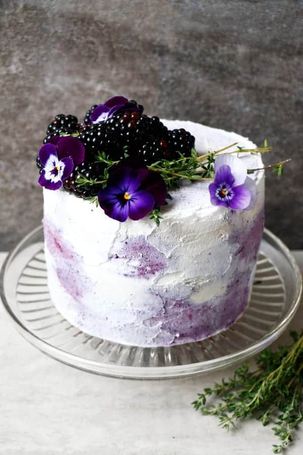Plantbased Birthday Cake Gluten Free Vegan