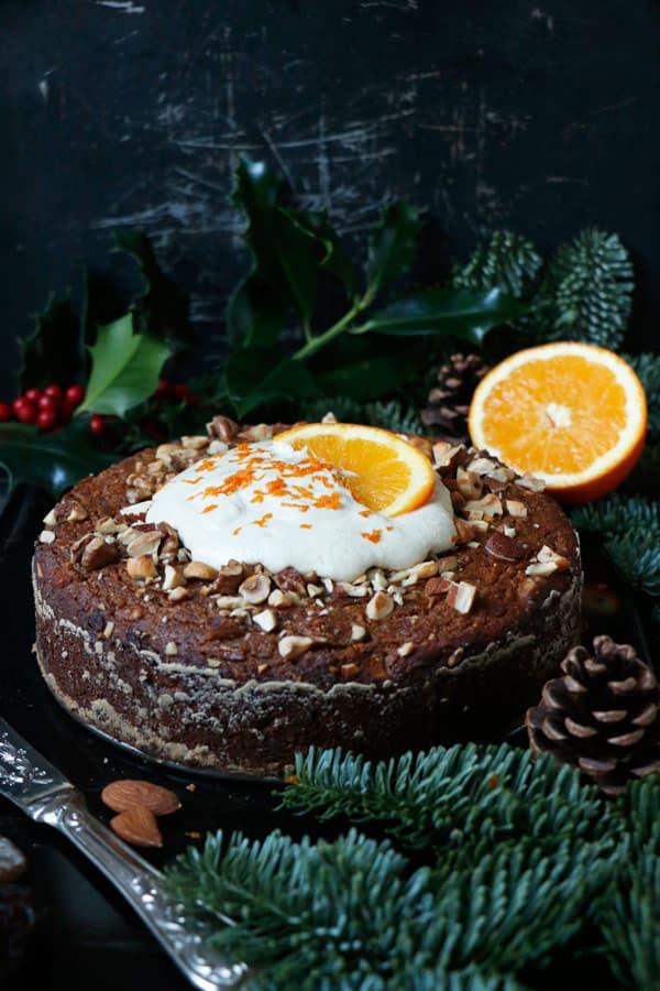 Dairy Free Orange Cardamom Cake