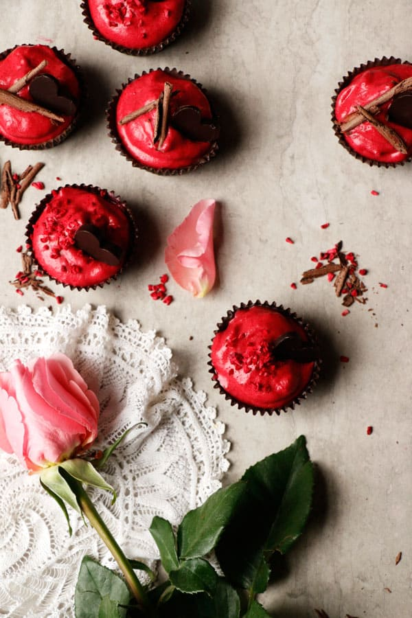 Chocolate Raspberry Mousse Cups (vegan, grain-free, nut-free)