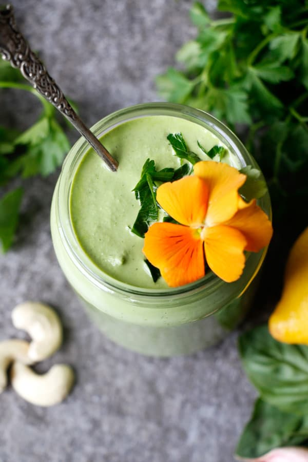 Green Cashew Sauce