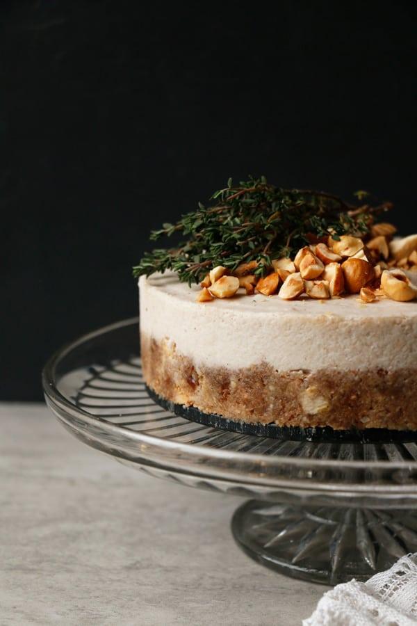 Pear Parsnip Walnut Cake Gluten Free