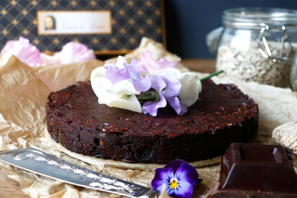 Nut-Free Chocolate Panforte (gluten-free & vegan)
