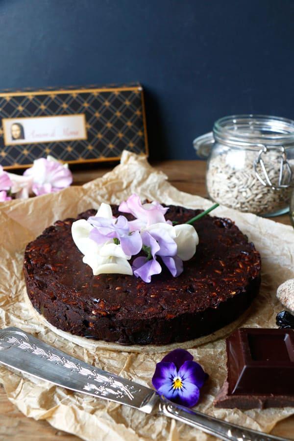 Nut-Free Chocolate Panforte (gluten-free & vegan)