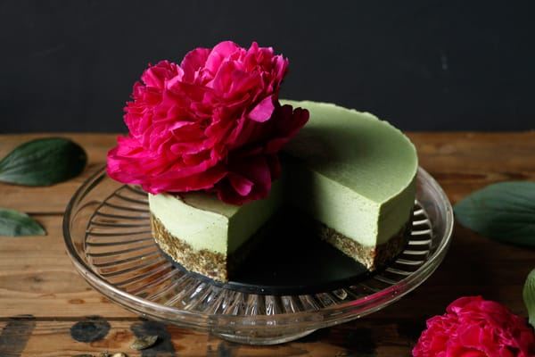 Nettle Vegan Cheesecake (grain-free)
