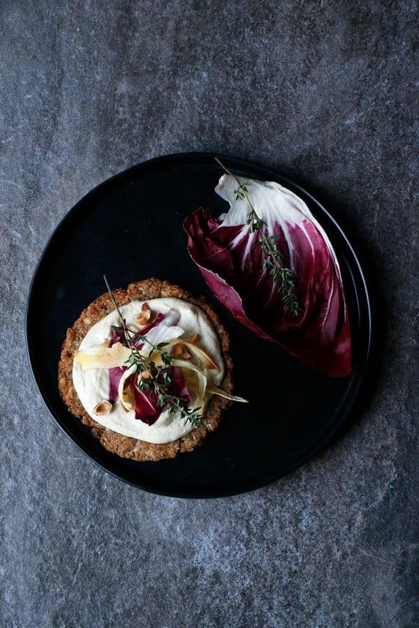 Parsnip Celeriac Grain-Free Mini Pizzas (vegan)