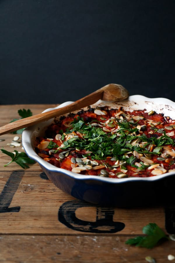 Spicy Harissa Vegetable Bake