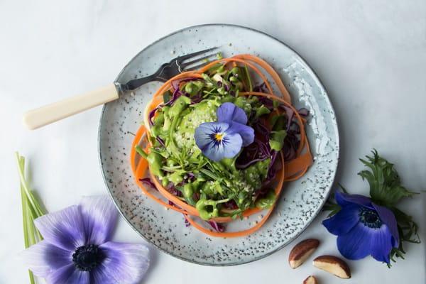 Spring Goddess Salad (vegan & gluten-free)