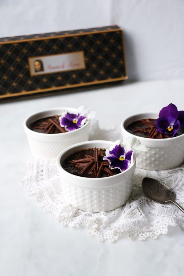 Vegan Chocolate Crème Brûlée