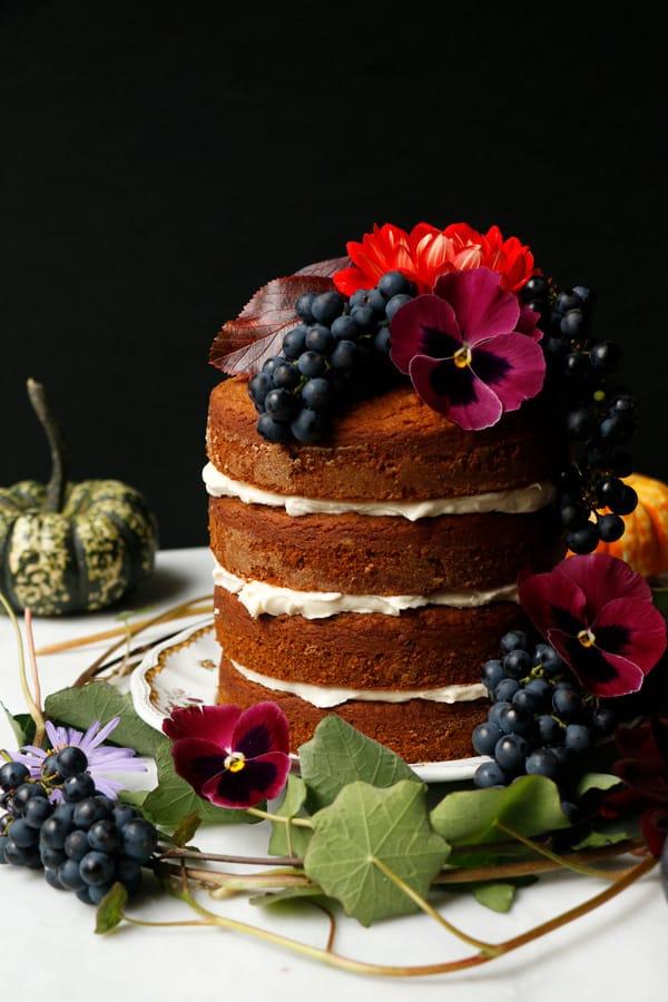Plantbased Pumpkin Layer Cake (vegan & gluten-free)