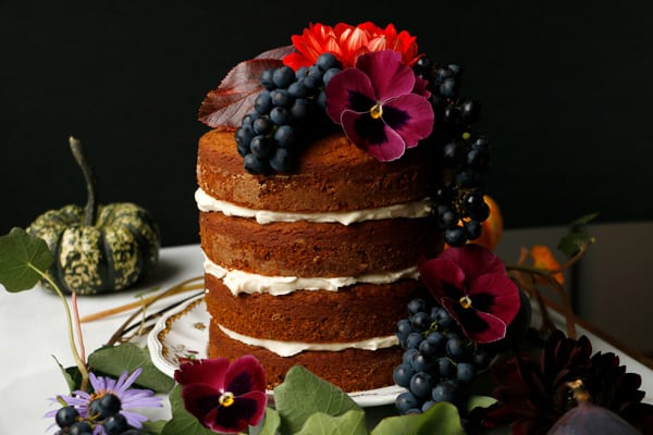Plantbased Pumpkin Layer Cake (vegan & gluten-free)