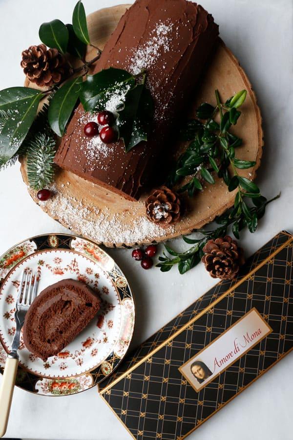 Buche De Noel (vegan & gluten-free)