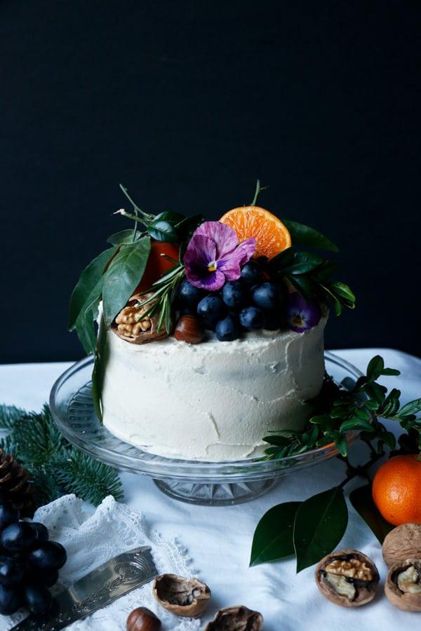 Gingerbread Layer Cake (vegan & gluten-free)