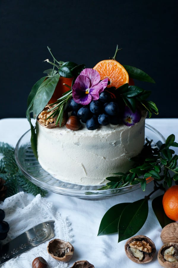 Gingerbread Layer Cake (vegan & gluten-free)