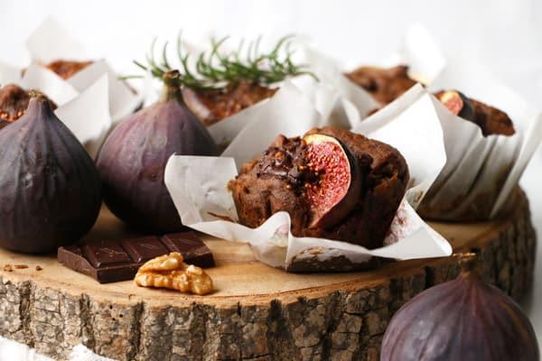 Fig Walnut Teff Muffins (vegan & gluten-free)