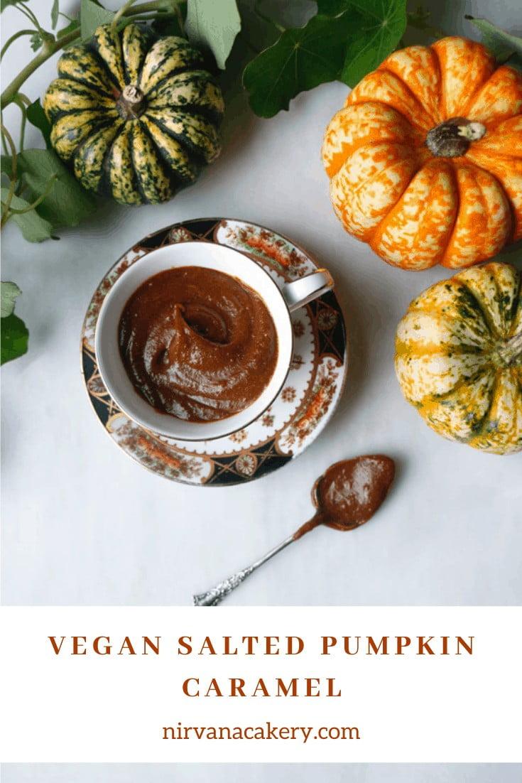 Vegan Salted Pumpkin Caramel