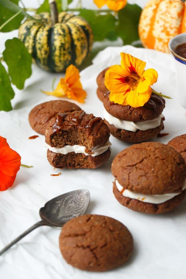 Ginger Molasses Cookies (vegan & gluten-free)