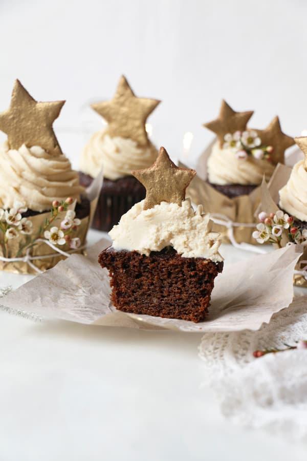 Gingerbread Cupcakes (vegan & gluten-free)