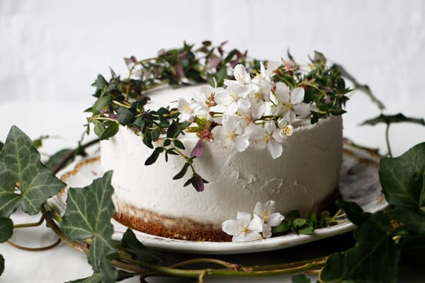 Thyme Lemon Zucchini Cake (vegan & gluten-free)