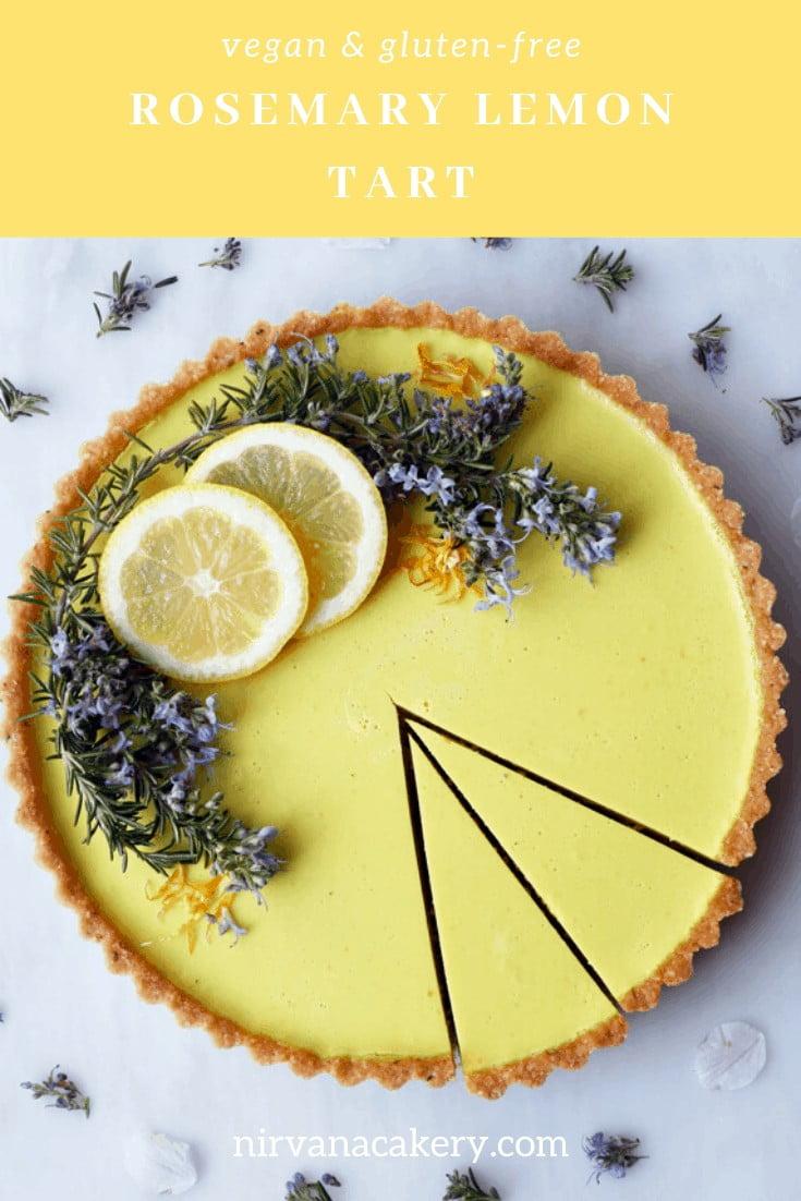 Rosemary Lemon Tart