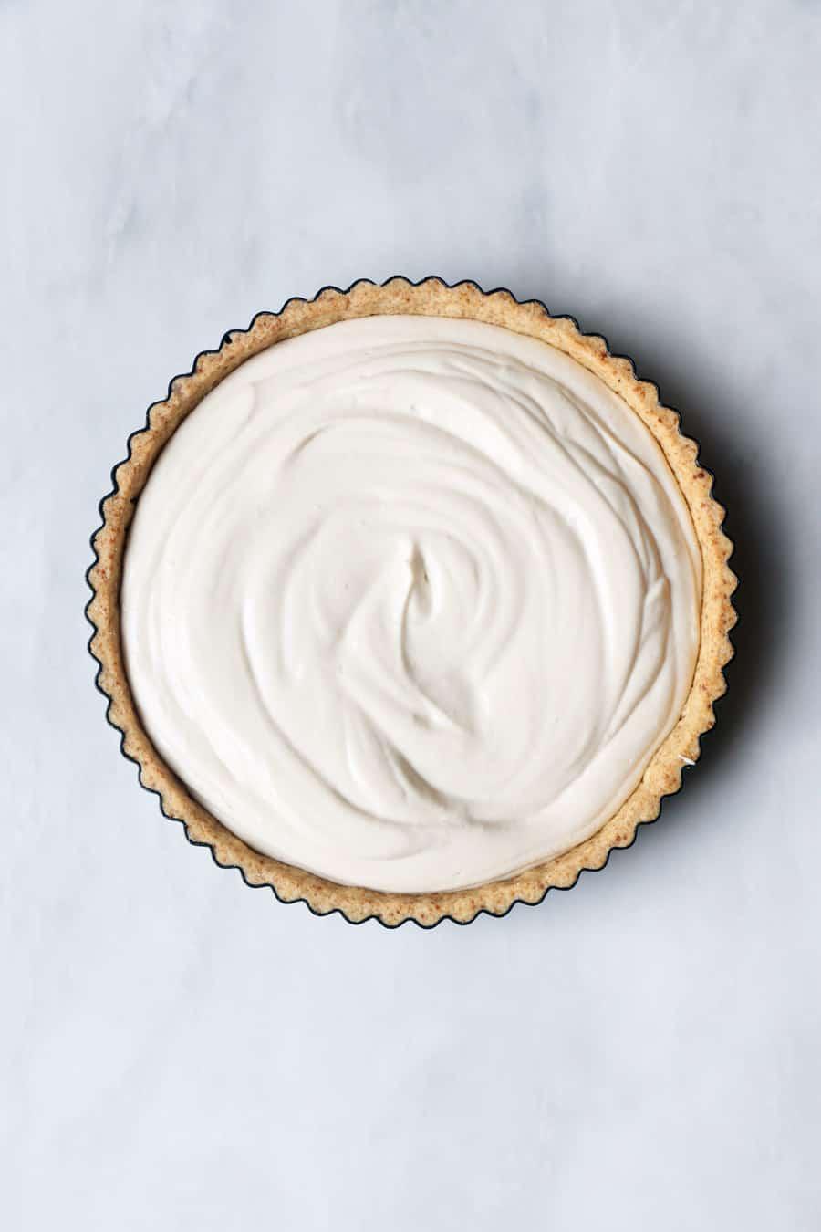 Baked Blueberry Cheesecake (vegan & gluten-free)